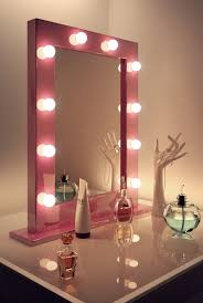 hollywood mirror with light bulbs 68 most magnificent vanity set with lights hollywood mirror light