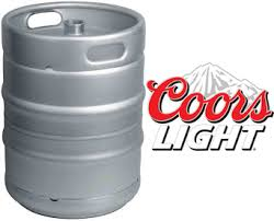 how much is a keg of coors light lagers lager keg coors light 11 gal kegs