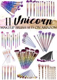 11 affordable unicorn makeup brush sets on amazon best of