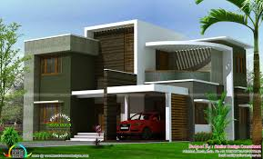 2400 sq ft contemporary box type house kerala home design