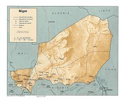 Niger Africa Map by Maps Of Niger Detailed Map Of Niger In English Tourist Map