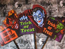 halloween signs for yard halloween crafts the big scare