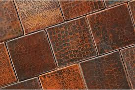 copper backsplash tiles kitchen surfaces pinterest recycled copper tile backsplash room pinterest copper tile