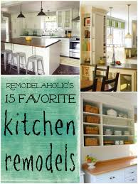 Kitchen Remodels Ideas Favorite Kitchen Remodel Ideas Remodelaholic