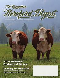 k che 24 herford the canadian hereford digest october 2015 by canadian hereford