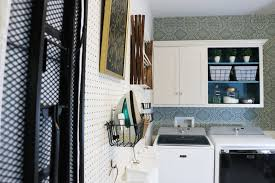 Laundry Room Pictures To Hang - remodelaholic how to hang pegboard for perfect laundry room storage