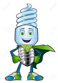 sympathetic character who dealer to an energy saving light bulb