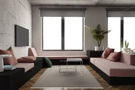 apartment themes apartments muted pink and green decor color scheme fresh studio