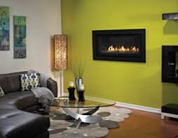Yellow Fireplace Gas Fireplaces Tevis Home