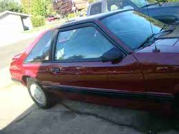 1989 ford mustang 4 cylinder buy used 1989 ford mustang lx third generation 3 door hatchback