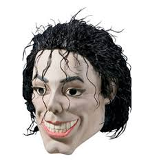 rubies halloween 5 mask plastic man michael jackson king of pop vinyl mask halloween