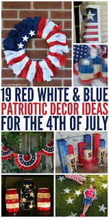 Memorial Day Decor Gorgeous Diy Patriotic Decor Ideas