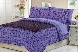Purple Coverlets Purple And Black Bedding Sets U2013 Ease Bedding With Style