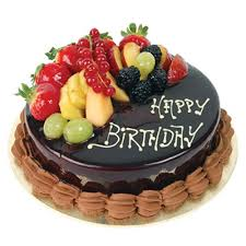 birthday cake images of birthday cake send chocolate truffle with fruits topping