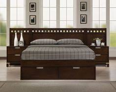 Headboard King Bed Fabulous King Size Bed Frame With Storage Drawer And Bookcase