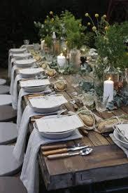 wedding table setting exles 110 best wedding farm tables images on pinterest flower