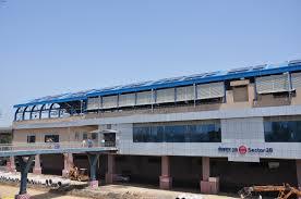 Metro Blue Line Map Delhi by Faridabad Metro Corridor Press Brief