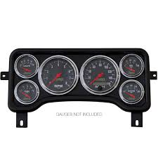 direct fit dash panel 6 gauge jeep wrangler 96 06 tj cherokee