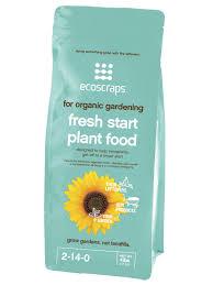 ecoscraps ecoscraps natural u0026 organic fresh start plant food