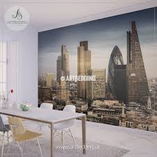 wall murals peel and stick self adhesive vinyl hd print page 7 famous skyscrapers in the business district london england wall mural photo mural