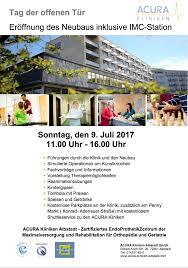 Acura Klinik Baden Baden Acura Kliniken Albstadt Tag Der Offenen Tür Am 09 Juli