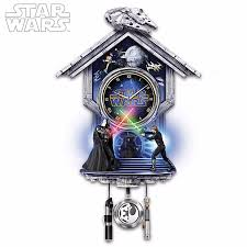 this star wars cuckoo clock might drive even the biggest fan