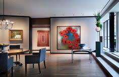 modern apartment art london based art buro designs a sophisticated apartment in paris