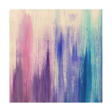 painted wood artwork paint strokes wood wall zazzle