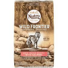 nutro wild frontier cold water recipe grain free salmon dry
