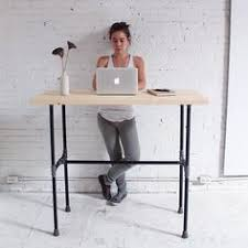 Industrial Standing Desk by Easy Diy Pipe Stand Up Desk Cost 150 Approx Industrial