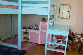 Ana White Build A Camp Loft Bed With Stair Junior Height Free by Ana White Two Camp Loft Beds Diy Projects
