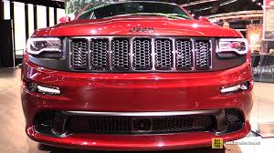 jeep grand cherokee srt white 2017 2016 jeep grand cherokee srt night edition exterior interior