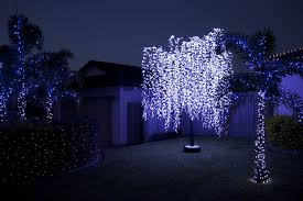 artificial trees landscape led tree light outdoor led willow tree