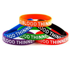 blood bracelet images Blood thinner silicone wristband bracelet jpg