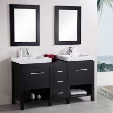 inspiring furniture bathroom black painted hardwood bathroom