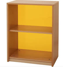 1 shelf bookcase with acrylic backboard by haba 508320