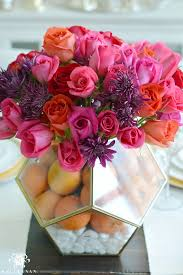 Red Flowers In A Vase Why You Should Use A Terrarium As A Vase Kelley Nan