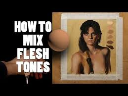 color theory how to mix flesh tones in painting youtube