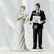 cake topper wedding cake toppers holding a sign groom cake topper