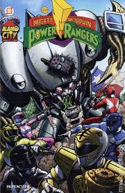 mighty morphin power rangers 2014 papercutz free comic book