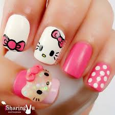 50 kitty nail designs kitty nails kitty nails