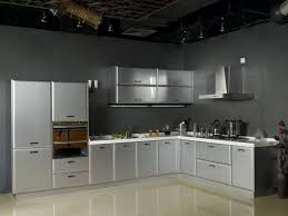 metal kitchen cabinets with gl design custom kitchen cabinets