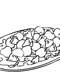 sweet and sour pork coloring page handipoints