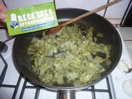 cuisiner les cotes de blettes poêlée de côtes de blettes solange f
