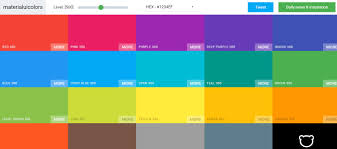 Purple And Orange Color Scheme Top Material Design Color Palettes For Web And Graphic Design Uideck