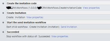 send invite to contacts automatically for microsoft portal in dynamics 365 png