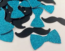 mustache and bow tie baby shower mustache bow tie etsy