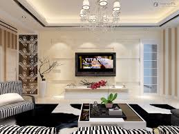 living room design with wall rift decorators
