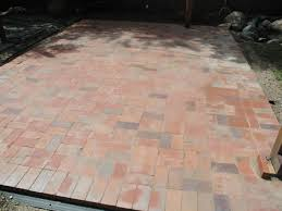 Covering Old Concrete Patio by How To Lay A Brick Paver Patio How Tos Diy