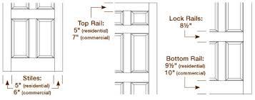 Shaker Cabinet Door Dimensions Captiva Wood Doors Premium Vs Custom